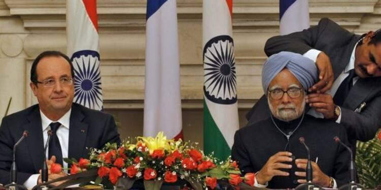 Visite à forte dimension économique pour Hollande en Inde