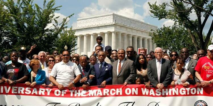 Marche pour les 50 ans du discours de Martin Luther King