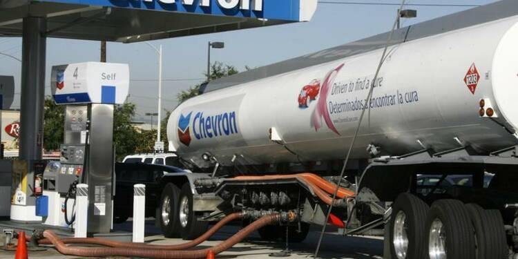 Bénéfices en retrait pour Chevron avec la baisse des cours