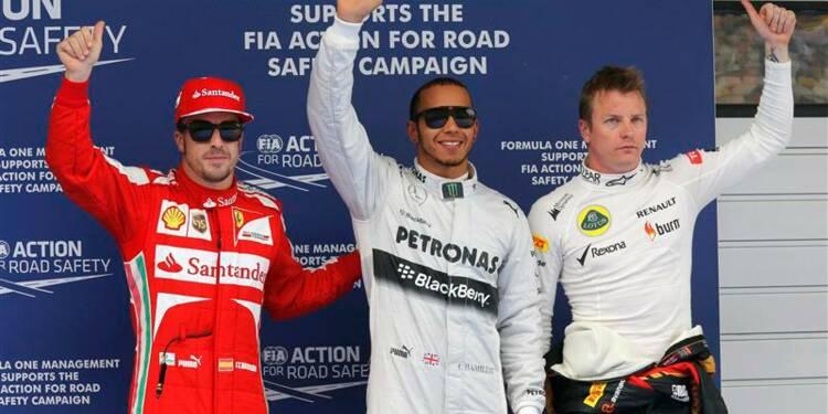 F1: Hamilton décroche sa première pole avec Mercedes en Chine