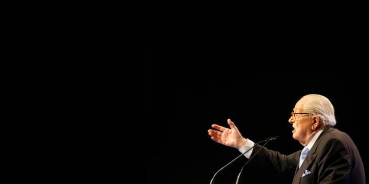 Jean-Marie Le Pen maintient la pression sur sa fille