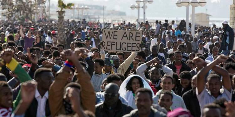 Nouvelle manifestation d'immigrés africains en Israël