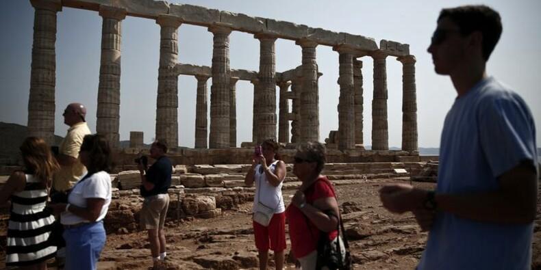 Grâce au tourisme, la Grèce enregistre son 1er excédent courant