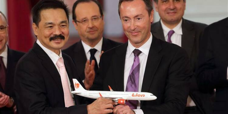 Airbus annonce une commande record de la compagnie Lion Air