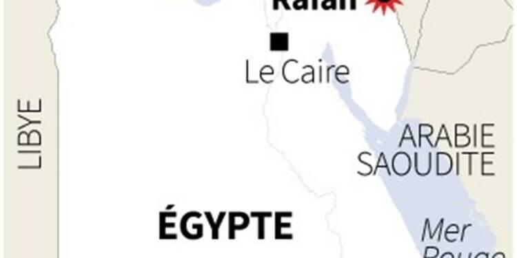 Des islamistes tuent 24 policiers dans le Sinaï égyptien