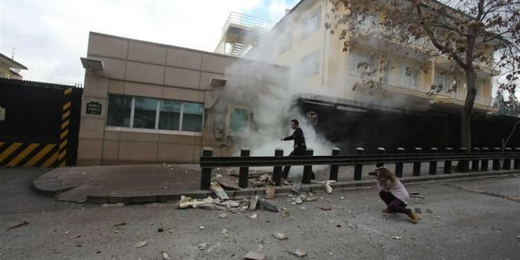 Attentat suicide près de l'ambassade américaine à Ankara