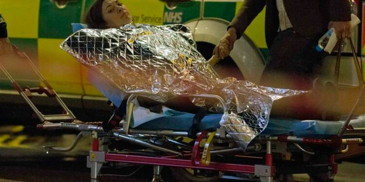 Le plafond d'un théâtre s'effondre à Londres, près de 90 blessés