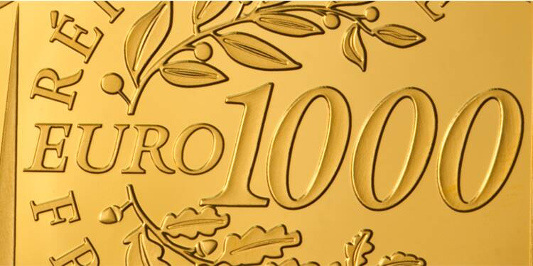 Succès fulgurant de la pièce d'or de 1.000 euros