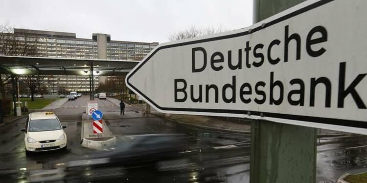 La Bundesbank optimiste, les commandes baissent en Allemagne