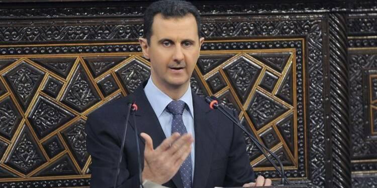 Paris ne veut pas de Bachar al Assad à la conférence de Genève