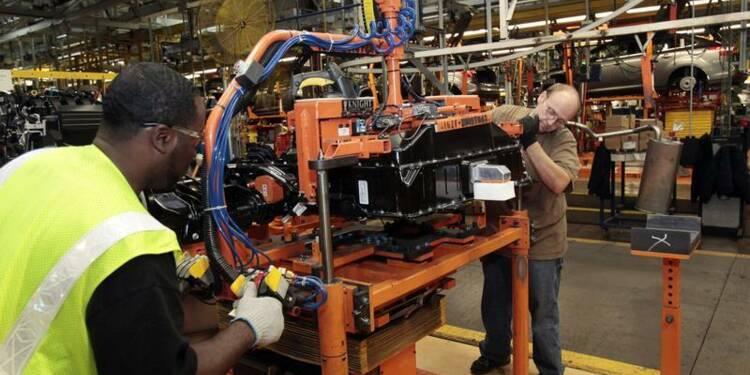 Forte croissance manufacturière aux Etats-Unis, selon l'ISM