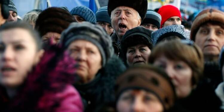 Grande manifestation pro-gouvernementale à Kiev