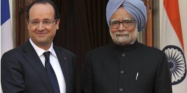 La visite de Hollande en Inde pauvre en contrats mais riche en promesses