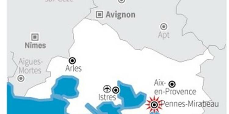 Un corps carbonisé retrouvé près de Marseille