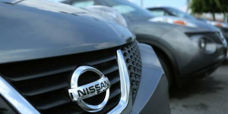 Nissan fait mieux que prévu au 1er trimestre avec les Etats-Unis