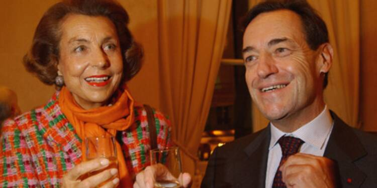 Liliane Bettencourt se serait aussi montrée très généreuse envers l'ex-P-DG de L'Oréal