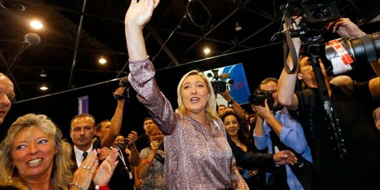 Marine Le Pen affiche sa confiance pour 2014