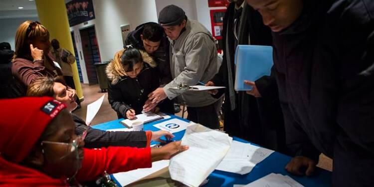 Nouvelle baisse des inscriptions au chômage aux Etats-Unis