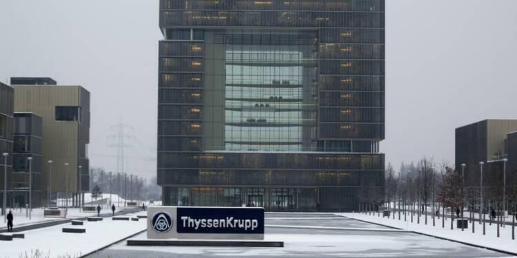ThyssenKrupp met en vente ses activités de rail et construction