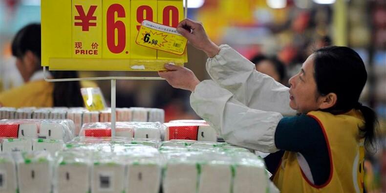 L'inflation au plus bas de sept mois en Chine en décembre