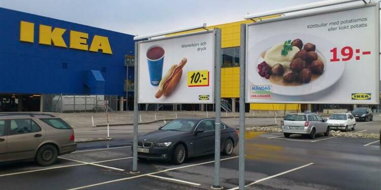 Du cheval dans des boulettes Ikea dans 13 pays européens