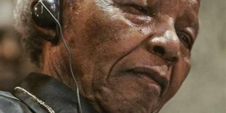 Nelson Mandela hospitalisé pour une infection pulmonaire
