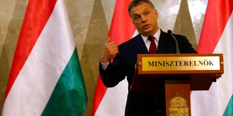 Le parti d'Orban devrait obtenir la majorité absolue en Hongrie