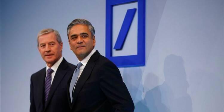 Charges et dépréciations entraînent une perte pour Deutsche Bank