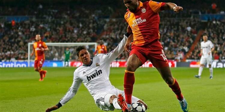 Ligue des champions: le Real donne une leçon à Galatasaray