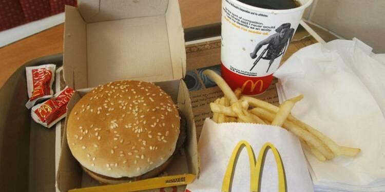 Le bénéfice de McDonald's en hausse mais sous le consensus