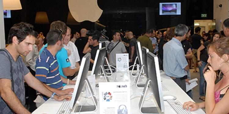 Chaque minute, ses Apple Store encaissent près de 20 000 euros