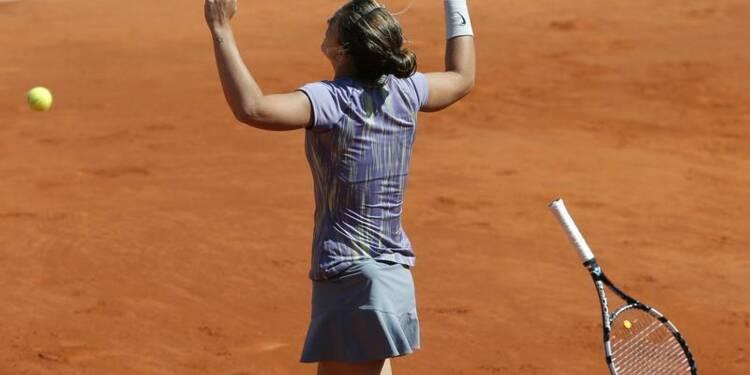 Roland-Garros: Sara Errani donne la leçon à Agnieszka Radwanska