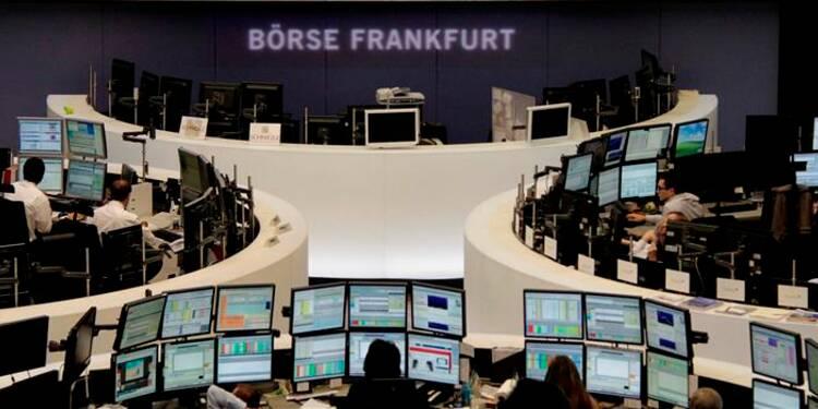Les Bourses européennes indécises à la mi-journée