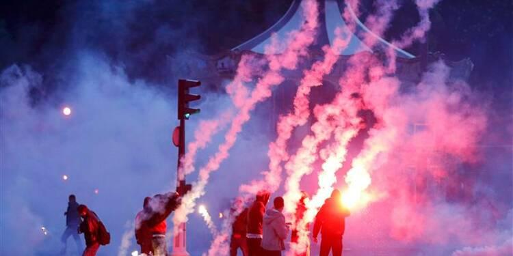 Des incidents gâchent la fête du PSG