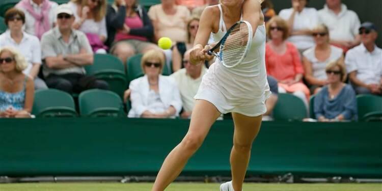 Wimbledon: Sharapova éliminée au deuxième tour par une qualifiée