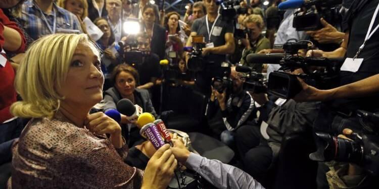 Marine Le Pen gagne en popularité à droite