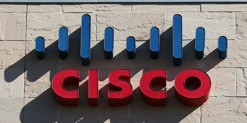 Cisco affiche un recul moindre que prévu du chiffre d'affaires