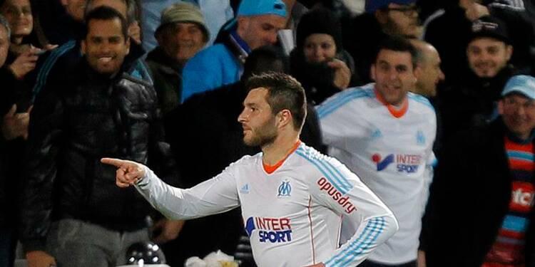 Ligue 1: l'OM consolide sa 2e place grâce à André-Pierre Gignac