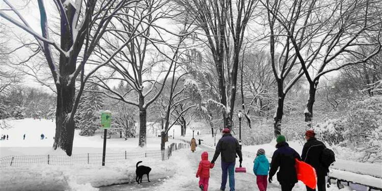 Le nord-est des Etats-Unis dans le blizzard, quatre morts