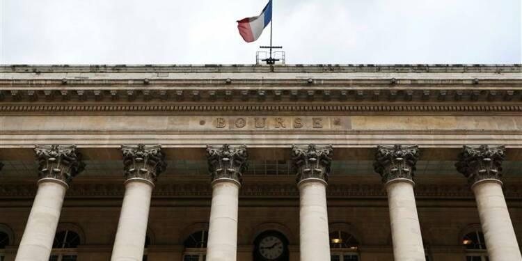 Les Bourses européennes en net repli, PMI et résultats ont pesé