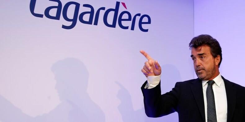 Net recul du CA de Lagardère au 1er trimestre, objectif maintenu