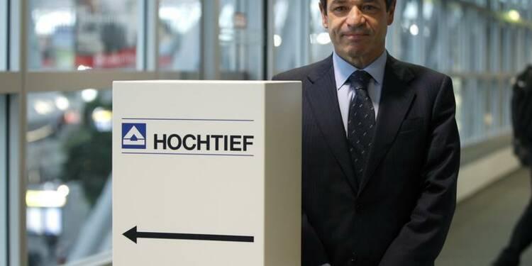 Hochtief supprimerait jusqu'à 2.000 emplois en Europe