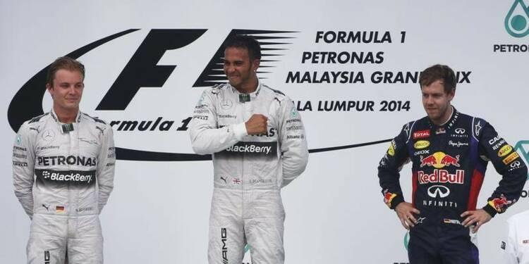 F1: Lewis Hamilton remporte le Grand Prix de Malaisie