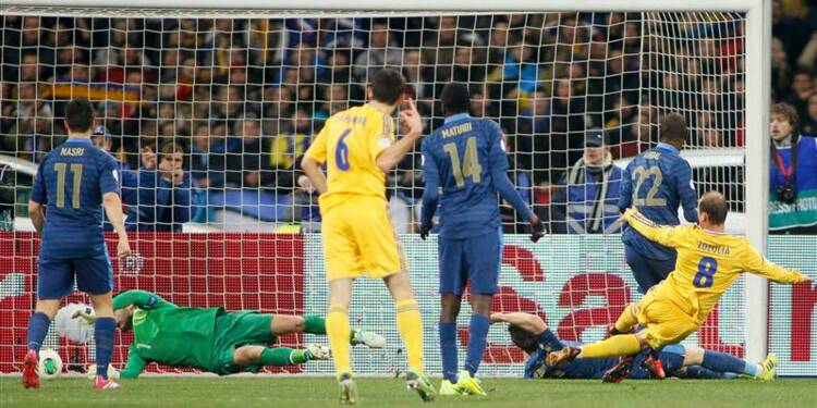 Mondial: la France s'incline 2-0 en Ukraine