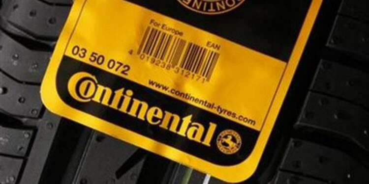 Continental prévoit une hausse de ses ventes en 2014
