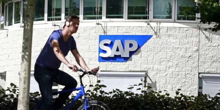SAP reporte son objectif de marge opérationnelle de 2015 à 2017