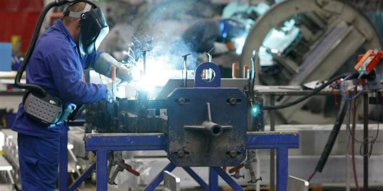 La production industrielle en hausse de 0,7% en février