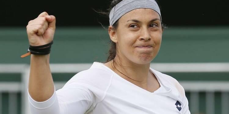 Wimbledon: Marion Bartoli en quart de finale