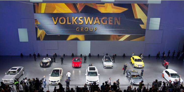 Le groupe Volkswagen fait son show au salon auto de Pékin