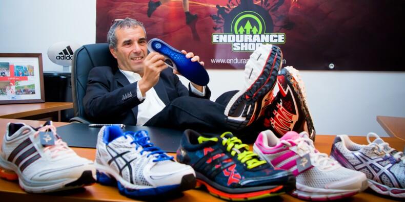Antoine Furno, fondateur d'Endurance Shop, a trouvé son second souffle
